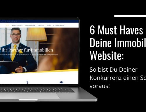 6 Must Haves für Deine Immobilien Website