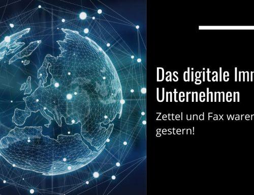 Das digitale Immobilien Unternehmen – Zettel und Fax waren gestern